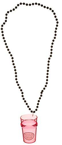 Beistle 508942-1/-/Bratenspritze Perlen mit Geburtstag Diva Glas, 84cm (21. Shot Halskette Glas Geburtstag)