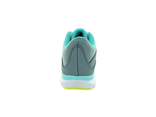 Nike Flex Trainer 4, Chaussures de Fitness Femme Dover Grey/Volt/Lght Aq/Tl Tnt