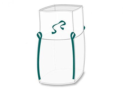 Enviro Big Bag 90 x 90 x 110 cm, Einfüllschürze, LDPE-Inliner angenäht, SWL 1. 250 kg