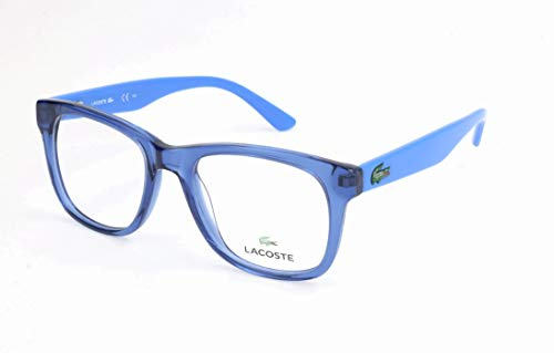 Lacoste Unisex-Kinder L3614 Brillengestelle, Blau, 45