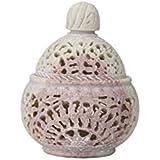 Hand Feel Shoppe Handi Shaped Sandstone Tea Light Holder For Room And Table Decor