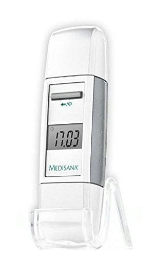 Medisana FTD - Digitales Infrarot-Thermometer für Front und Ohr mit Geräuschunterdrückung, weiß