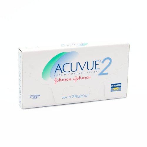 Johnson&Johnson Acuvue 2 - 6er Box (-9.50 / BC 8,7), Kontaktlinsen