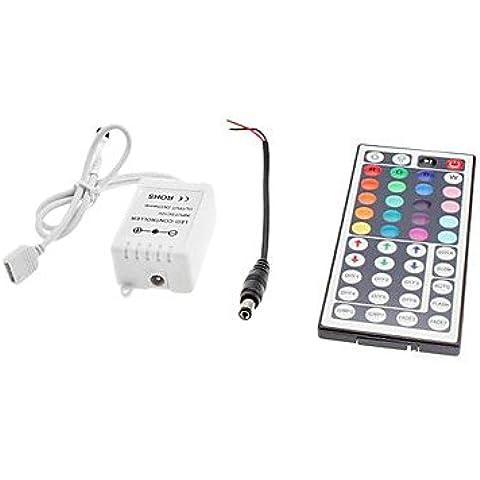 XMQC*44 Pulsante di telecomando per LED Strip RGB luci (12V)