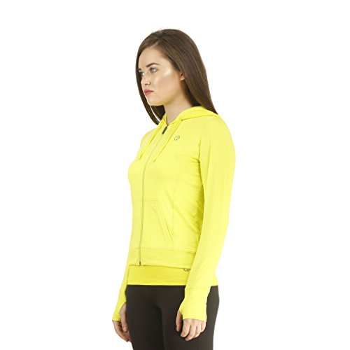 TRUEREVO Women's Stretchy Dryfit Hoody Jacket