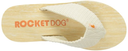 Rocket Dog Diver, Infradito donna avorio (Double Cream)