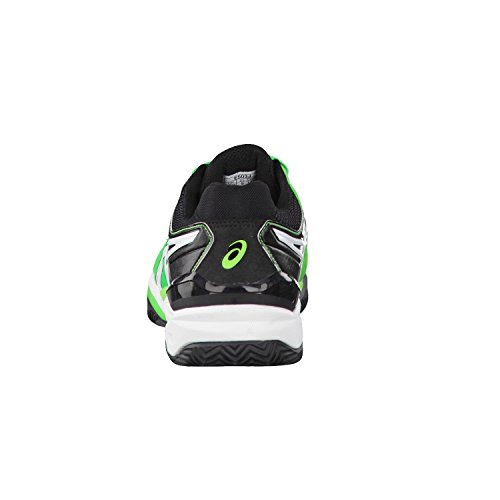 Asics Gel-Resolution 6Clay corte Scarpe da tennis Flash Green/White/Black