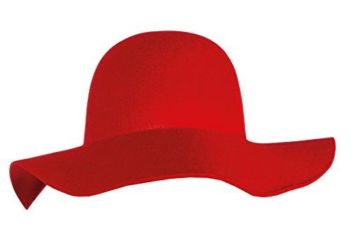 Boland 04363 - sombrero de ala ancha con suave, Adulto, un tamaño, co