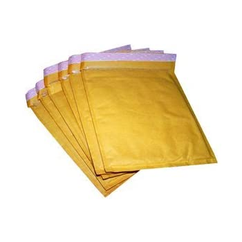 100 x AroFOL Padded Bubble Wrap Lined Envelopes Bags Mailing Postal Postage Packaging Gold Self Seal All Sizes A//000-100mm x 165mm A000//B00//C0//D1//E2