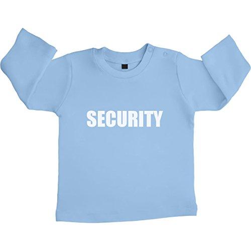 Security Motiv Für Die Wachsamen Babies Unisex Baby Langarmshirt Gr. 66-93 6-12 Monate / 76 (Ideen Top Lustige Kostüm 10)