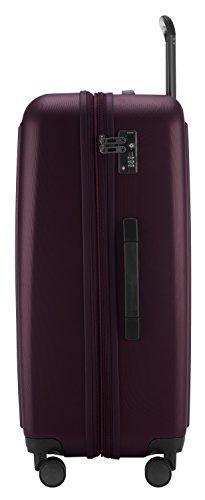 HAUPTSTADTKOFFER - Tegel - Hartschalenkoffer Koffer Trolley Rollkoffer Reisekoffer, TSA, 75 cm, 128 Liter, Burgund - 2