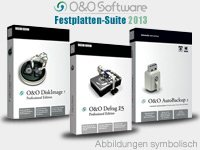 O&O Festplatten-Suite 2013 - 7 Windows Wiederherstellungs-cd