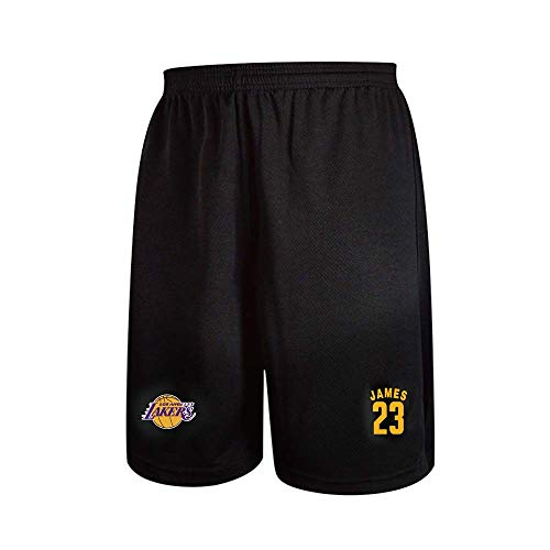 BUY-TO Basketball-Shorts für Herren NBA Lakers 23 James Lebron Lauftraining im Freien DIY besonders angefertigt,2XL/170-175cm(Height)