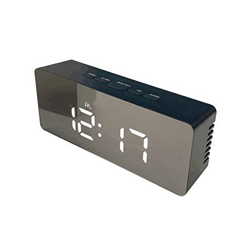 QQKKMR Reloj Despertador Nuevo Reloj de Alarma led Digital, función de Despertador Reloj de Escritorio...