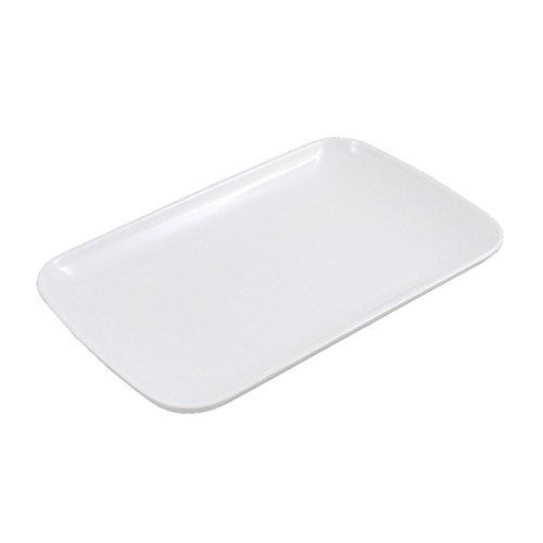 sourcingmap® Forme Rectangle Dîner Dessert Apéritif Vermicelle Plate Assiette