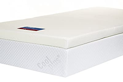 Southern Foam Memory Foam Mattress Topper with Cover