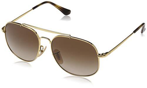 RAYBAN JUNIOR Unisex-Kinder Sonnenbrille General Junior Gold/Browngradient, 50