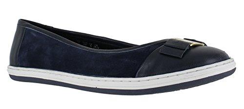 Hush Puppies Ava Grace Womens Flat Slip On Ballerina Pumps Shoes UK...