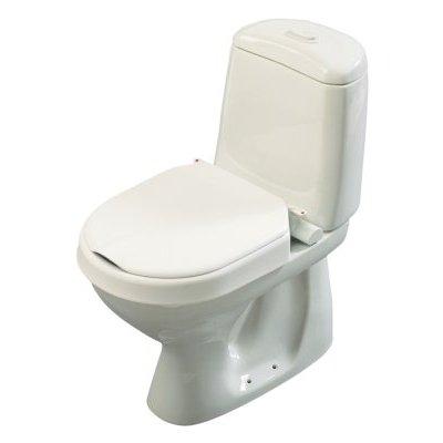 Hi-Loo Toilettensitzerhöhung fest, m. Deckel. 6cm(Etac), Toilettenhilfen