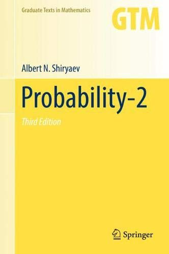 Probability-2 (Graduate Texts in Mathematics)