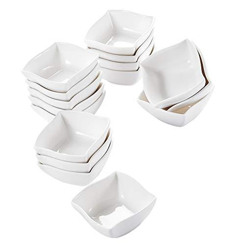 MALACASA, Serie Ramekin.Dish, Juego Cuencos Mini 16