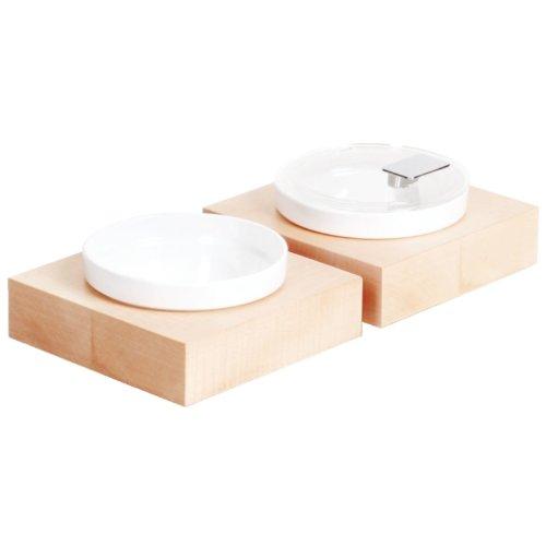 APS Cadres gc924 Boîte Buffet Bol carré en bois d'érable, petit
