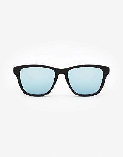 Hawkers X Messi · Kids Gafas de sol, Carbon Black Blue ChromE, One Size Unisex-niños