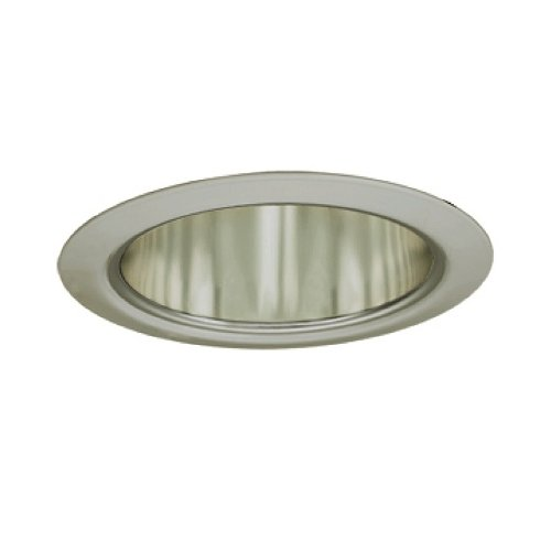 Jesco Lighting TM5510STST 5-Inch Aperture Line Voltage Trim Recessed Light, Aperture Cone, All Satin Chrome Finish by Jesco Lighting Group -