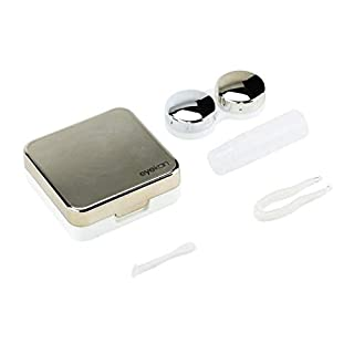 Tragbare Solid Color Storage Kontaktlinsenbehälter Box Halter Container Outdoor Reise Kontaktlinsen Box Für Augenpflege - Gold