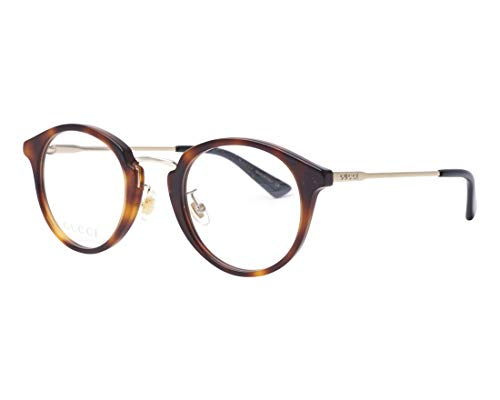 Gucci Brille (GG-0322-O 003) Acetate Kunststoff - Metall havana - hell gold