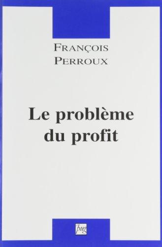 Le problème du profit