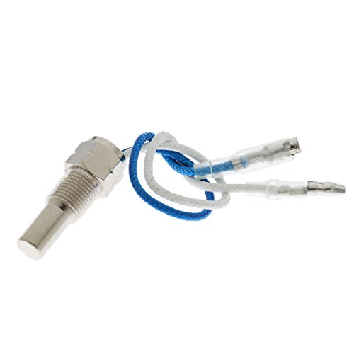 IPOTCH 1 Stück Öl/Wasser-Temperatur-Geber Gewinde 1/8 Zoll NPT Sensor mit Zubehör