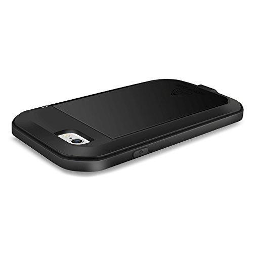 Eastcoo Coque en aluminium et métal pour Apple iPhone 6Plus/iPhone 6S Plus noir