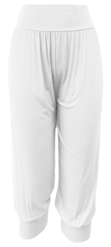 Kurze Hosen für Damen Sporthose Sweatshorts mit Viskose Knielange  Sommerhose Bermudas (36-38, 4d86f4372d