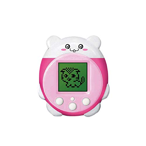 ZJL220 Mini Electronic Pets Toys 90S 9 Pets in One Virtual Cyber Pet Toy  Divertido niños Adultos Rosa