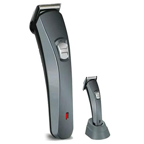 TronicXL Akku Haarschneider Barttrimmer Set Haarschneidemaschine 5x Aufsätze Nasenhaar Trimmer Haar Schneide Maschine (20a Klinge)