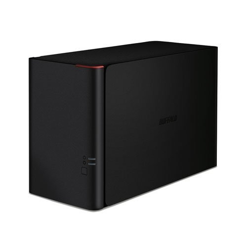 Buffalo LS420D0202-EU LinkStation 420 NAS, 2TB, Nero