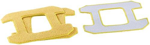 Sichler Haushaltsgeräte Zubehör zu Fensterputzer-Roboter: Mikrofaser-Reinigungs- und -Polier-Pad für PR-041 V3, 3er-Set (Haushaltshelfer)