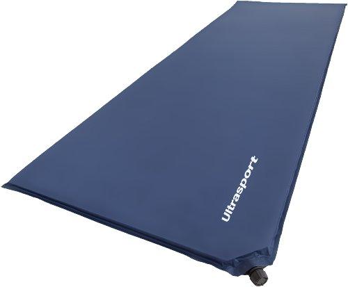 Ultrasport selbstaufblasbare Isomatte / Luftmatratze selbstfüllend, ideal zum Zelten, Outdoor Liegematte ultraleicht und komfortabel – wasserdicht, Thermomatte in 200 x 66 x 3 cm, klein zusammenfaltbar