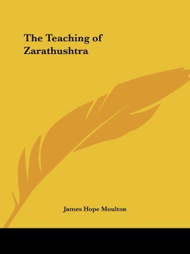 The Teaching of Zarathushtra