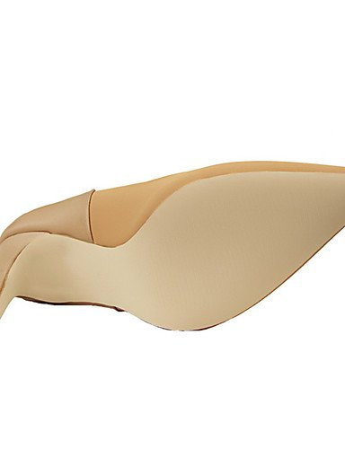 WSS 2016 Chaussures Femme-Extérieure / Bureau & Travail / Soirée & Evénement-Noir / Rose / Rouge / Gris / Kaki / Amande-Talon Aiguille-Talons / khaki-us5 / eu35 / uk3 / cn34