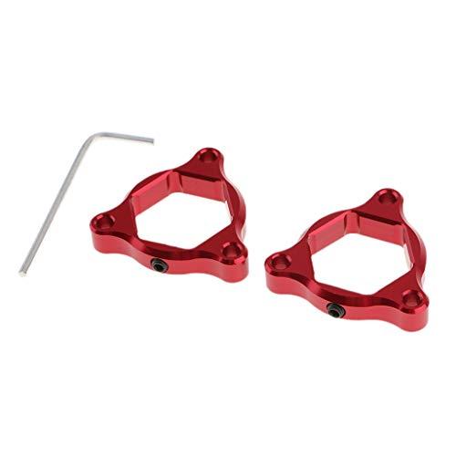 Dorato gazechimp Coppia Moto CNC Anteriore Anodizzato Forcella Precarico Forcella 14mm Per MT-09 Tracer//Tracer 900