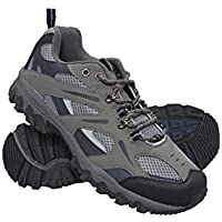Mountain Warehouse Jungle Mens Walking Shoes - Lightweight Running Shoes, Breathable, Soft, Comfortable, Flexible Gym Shoes - Ideal for All Season Hiking & Trekking