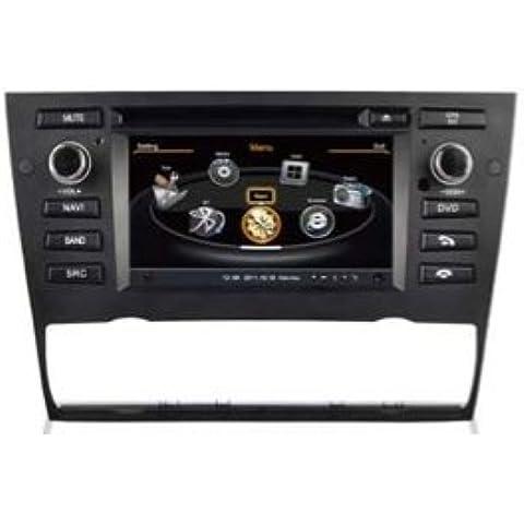 BMW-AudioCarSystem Digital con versión-Air: E90/E91/E93 3 series (2005-2011)-instalación OEM coche pantalla táctil con reproductor de DVD, MP3 radio USB SD MPE4 MPEG2-navegación GPS 3D-USB TV iPod, Bluetooth, manos libres AudioCarSystem