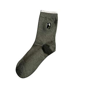 Bornbayb Größe 39-46 Lustige Socken Männer Damen Sport Socken Dicke Lässige Socken Bequem Atmungsaktiv