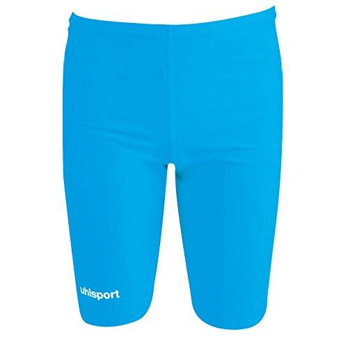 Uhlsport - Pantaloni corti da uomo aderenti, Blu (rosso), XXL