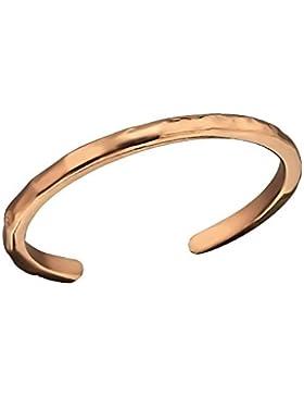 Rose Gold, Zehenring Sterling Silber verstellbar