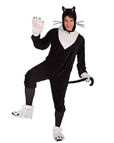 Katze Erwachsene Für Kostüm - Generique - Katzen-Kostüm für Erwachsene