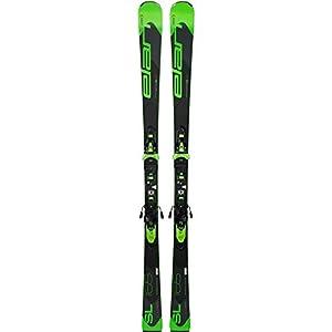 Elan (ELAQM) Unisex's Q100472 Elan 3838855666297 Arrow Rocker SL Fusion SKI Größe 165 cm, schwarz/grün, 165