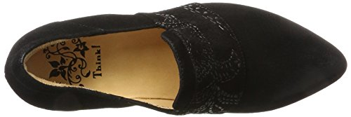 Think! Damen Imma_181239 Pumps Schwarz (Sz/Kombi 09)